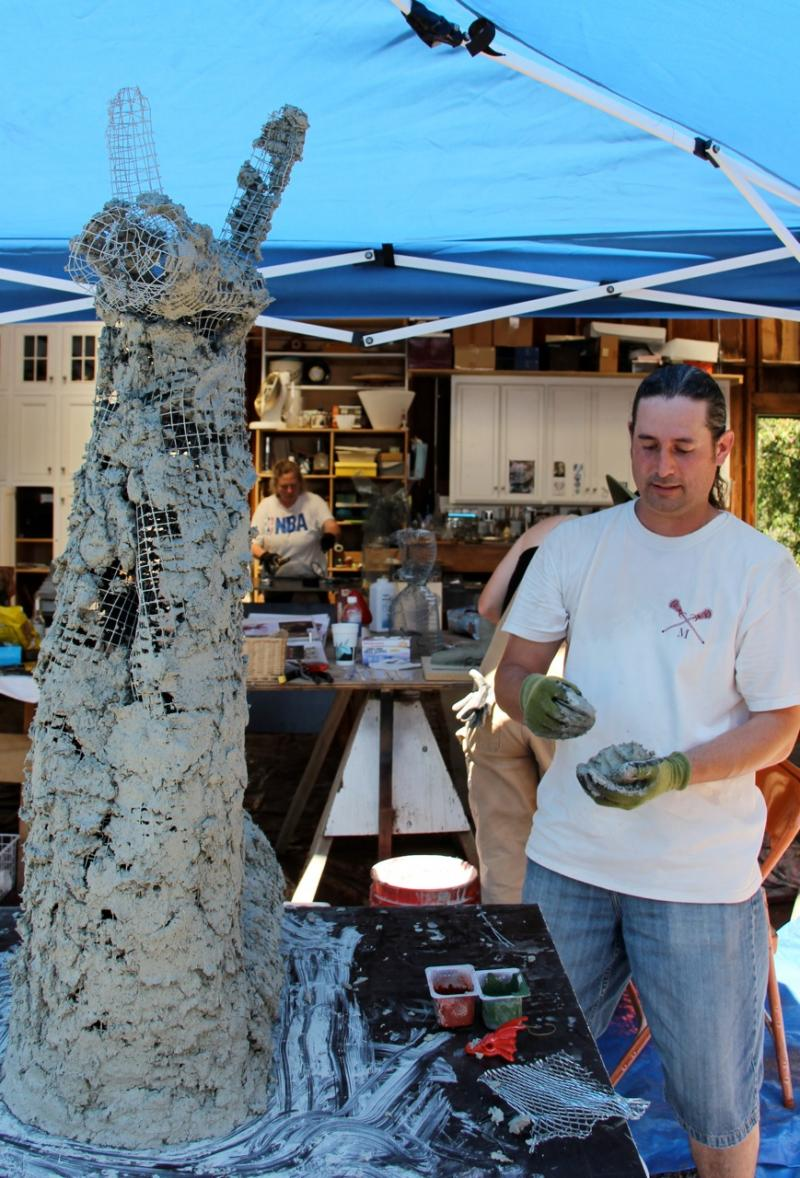 June 8th-9th 2 Day Darjit Garden Sculpture Workshop in Geyserville/ Healdsburg
